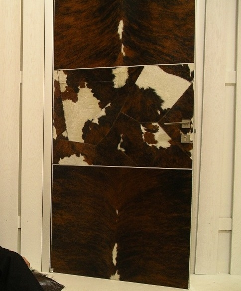 Арт-двери в шкуре